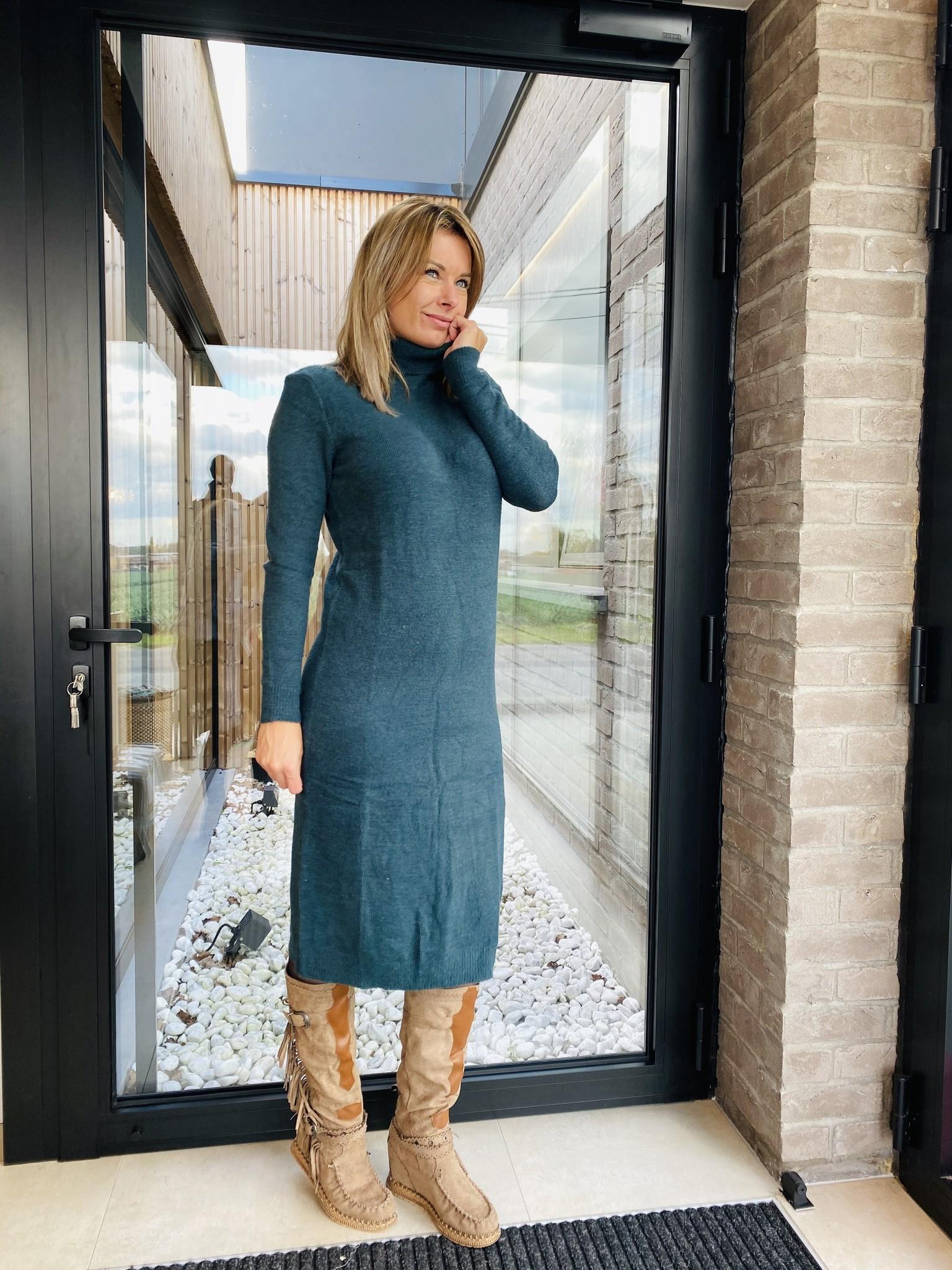 Dress Joana Blue