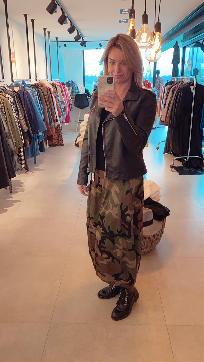 Lange Rok Camouflage TU
