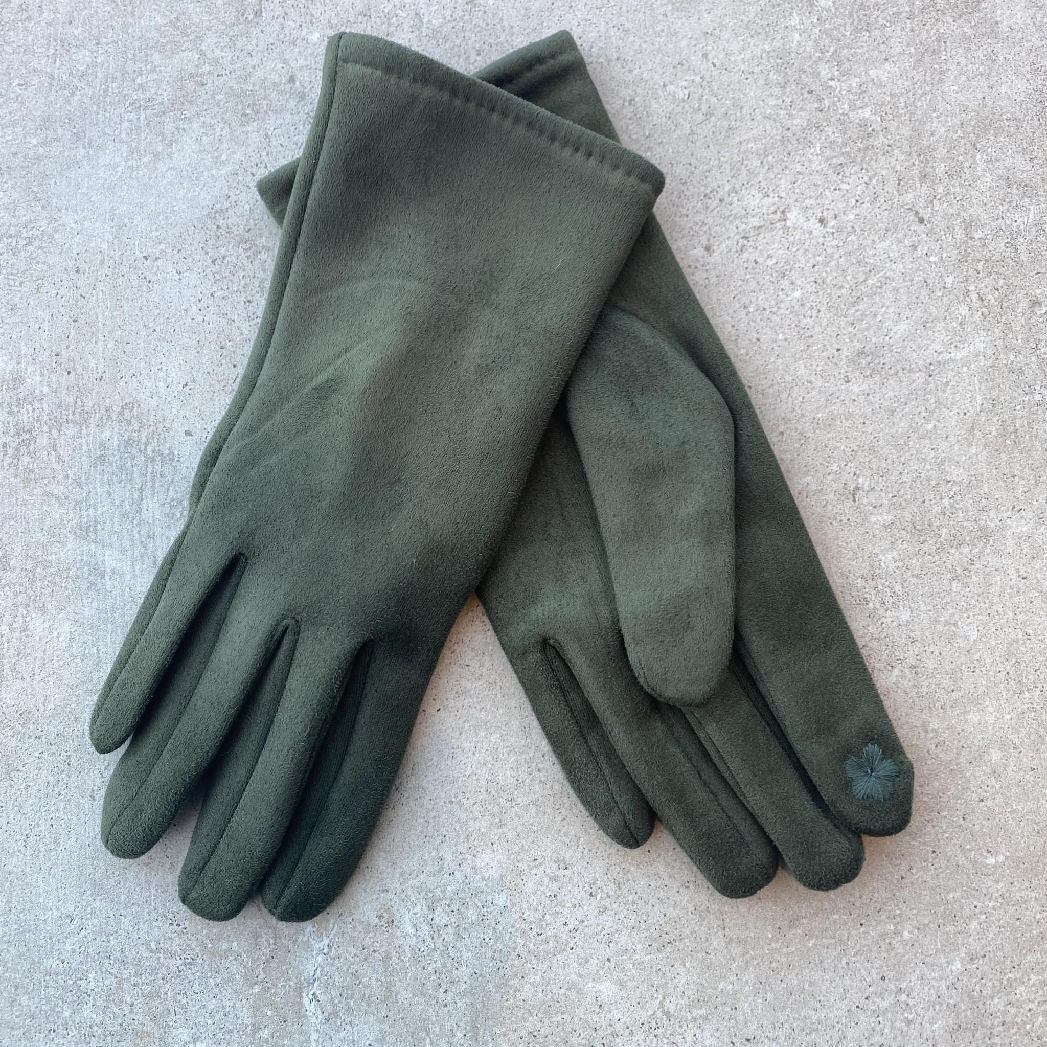 Handschoenen kaki