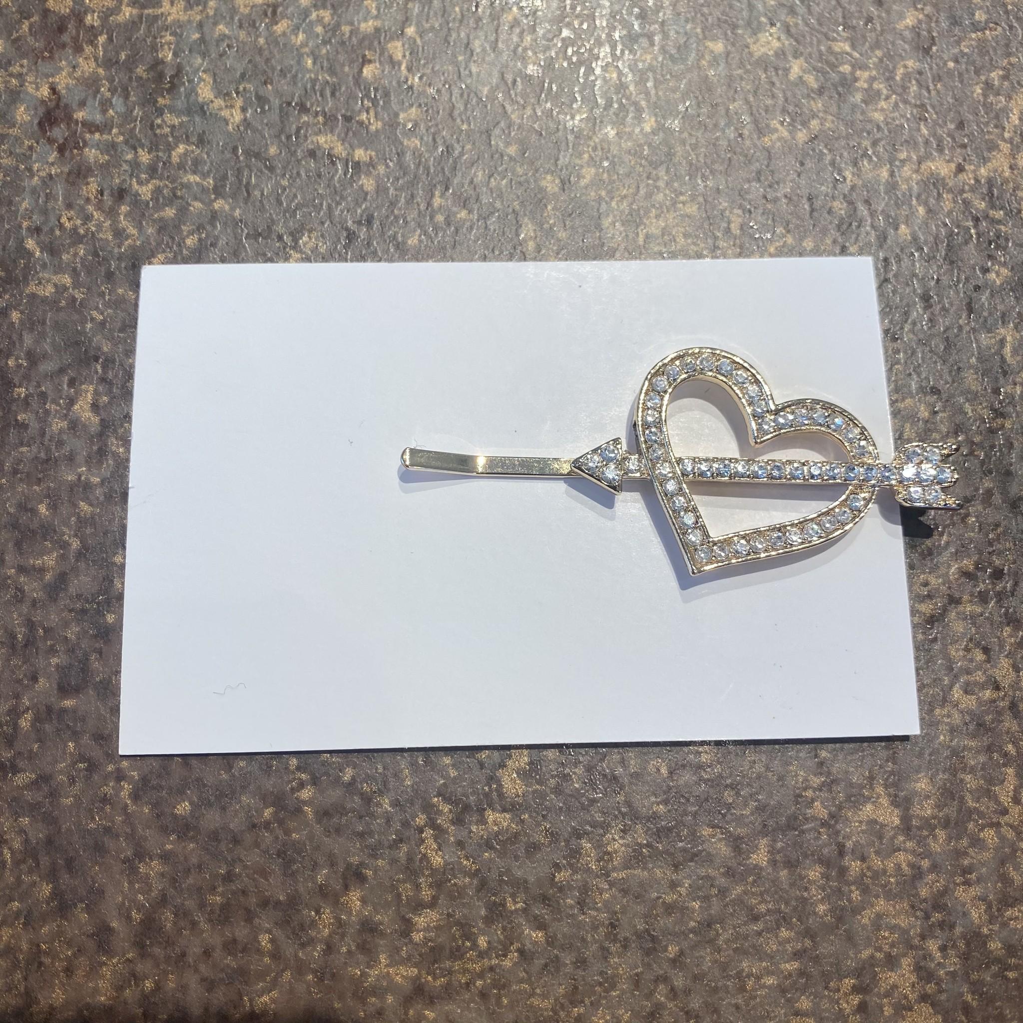 Hairclip heart