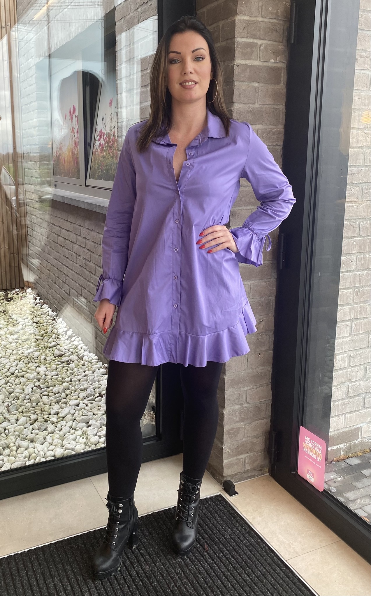 Blouse Camille lila