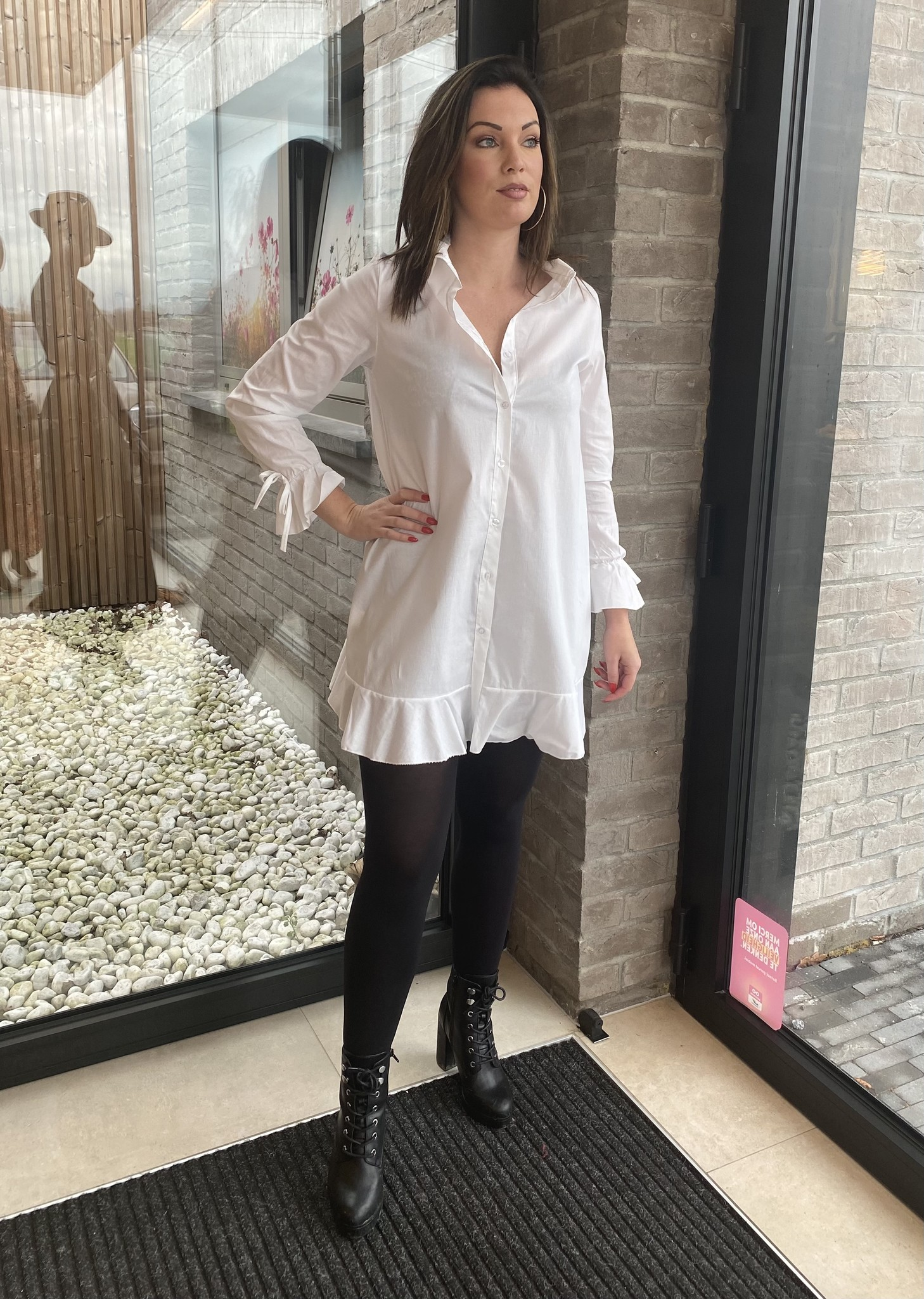 Blouse Camille Wit