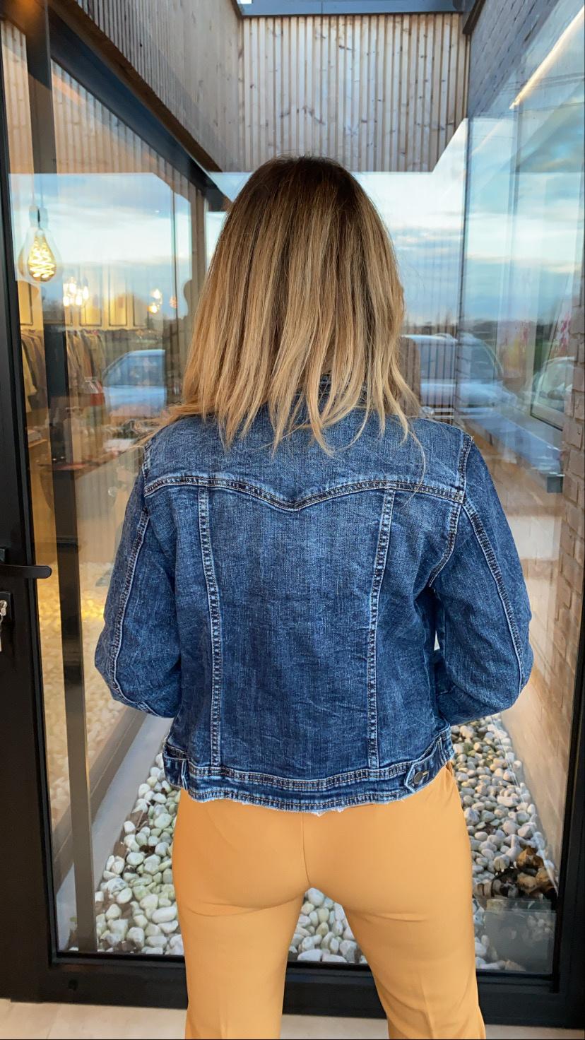 Jeans jas Rhomi
