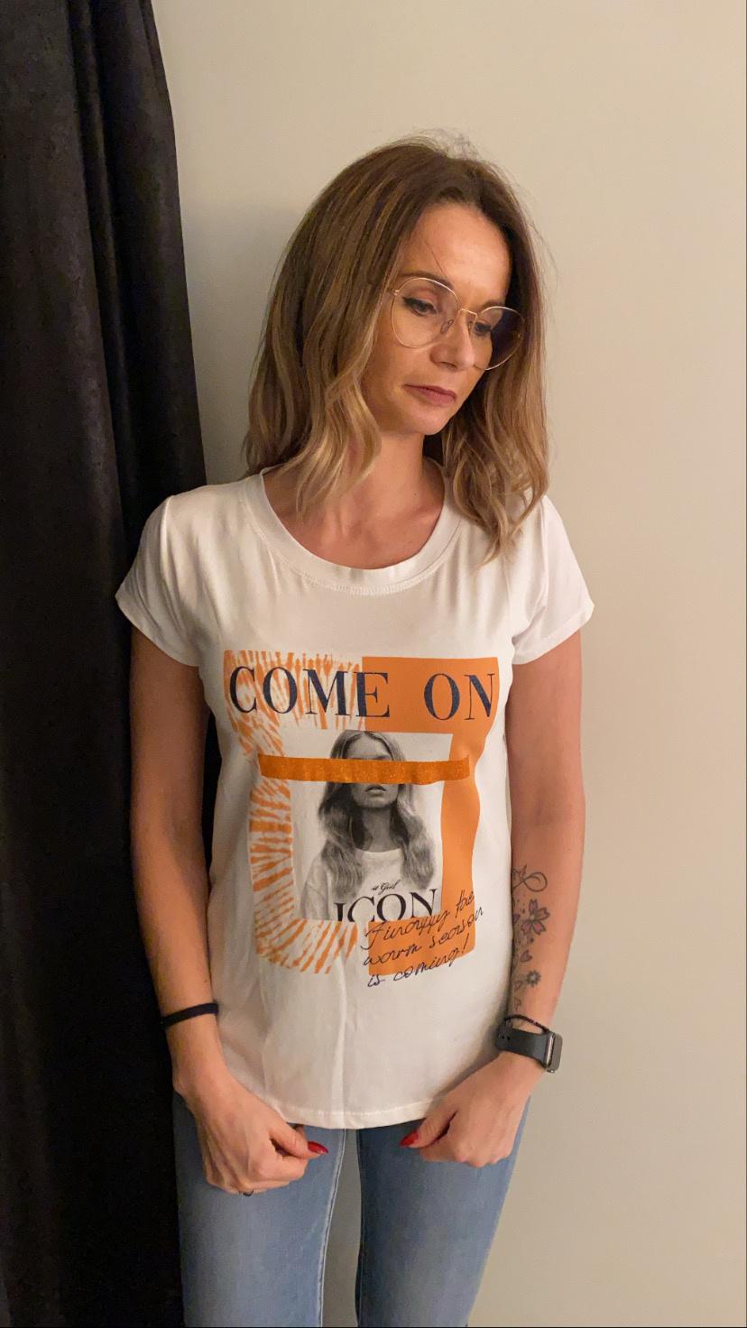 T-shirt Icon white TU