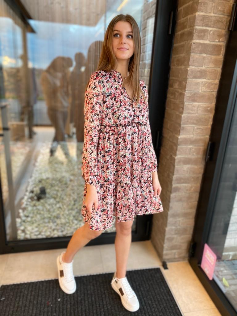 Dress Judith Corail/groen frull