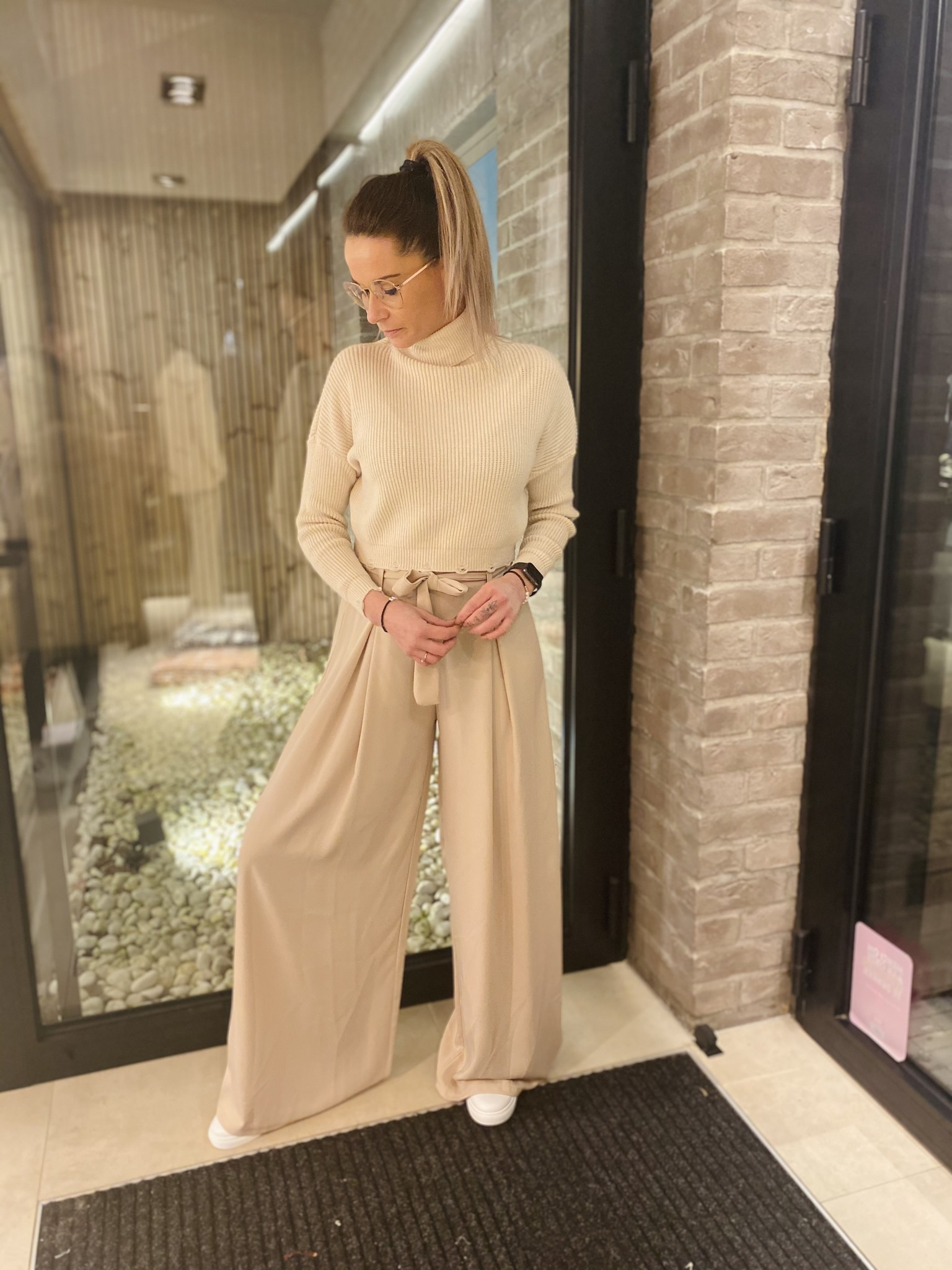 Trousers Lola beige TU