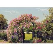Komar Rose Garden Fotobehang 368x254cm