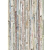 Komar Vintage Wood Fotobehang 184x254cm