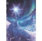 Komar Frozen Snow Queen Fotobehang 184x254cm