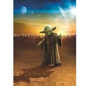 Komar Star Wars Master Yoda Fotobehang 184x254cm