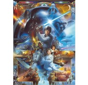 Komar Star Wars Luke Skywalker Collage Fotobehang 184x254cm