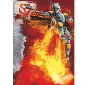 Komar Star Wars Boba Fett Fotobehang 184x254cm