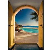 Komar Santorini Fotobehang 184x254cm