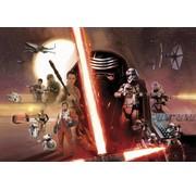 Komar Star Wars EP7 Collage Fotobehang 368x254cm