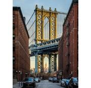 Komar Brooklyn Vlies Fotobehang 184x248cm