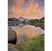 Komar Alpenglühen Fotobehang 184x254cm