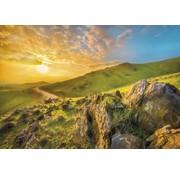 Komar Mountain Morning Fotobehang 368x254cm