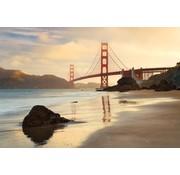 Komar Golden Gate Vlies Fotobehang 368x248cm