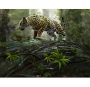 Papermoon Jaguar Vlies Fotobehang 350x260cm