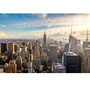 Papermoon New York City Horizon Vlies Fotobehang 350x260cm