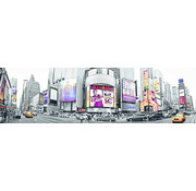 Papermoon New York Time Square Vlies Fotobehang 350x100cm