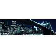 Papermoon Brooklyn Bridge Vlies Fotobehang 350x100cm