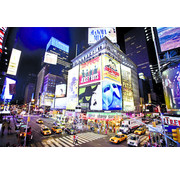 Papermoon New York Time Square Vlies Fotobehang 250x180cm