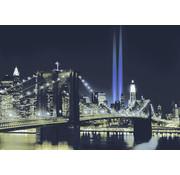 Papermoon New York by Night Vlies Fotobehang 350x260cm