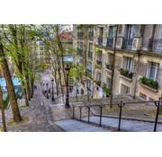 Papermoon Montemarte Parijs Vlies Fotobehang 350x260cm