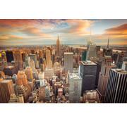 Papermoon Manhattan City Centre Vlies Fotobehang 350x260cm