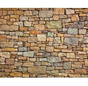Papermoon Stenen Muur Vlies Fotobehang 350x260cm