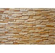 Papermoon Natuurstenen Muur Vlies Fotobehang 350x260cm