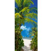 Papermoon Strandpad Vlies Fotobehang 90x200cm