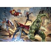 Komar Avengers Street Rage Fotobehang 368x254cm