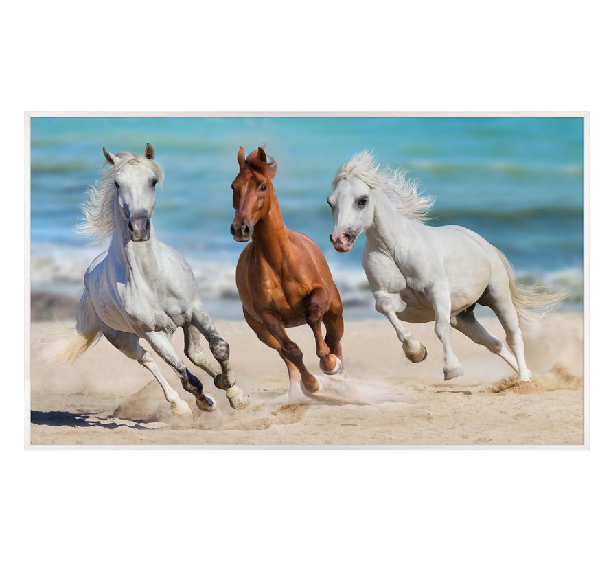 Paarden in Galop Infraroodverwarmingspaneel 60x100cm 600W