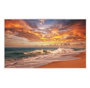 Infraroodverwarmingspaneel 600W Zonsondergang op het strand 60x100cm