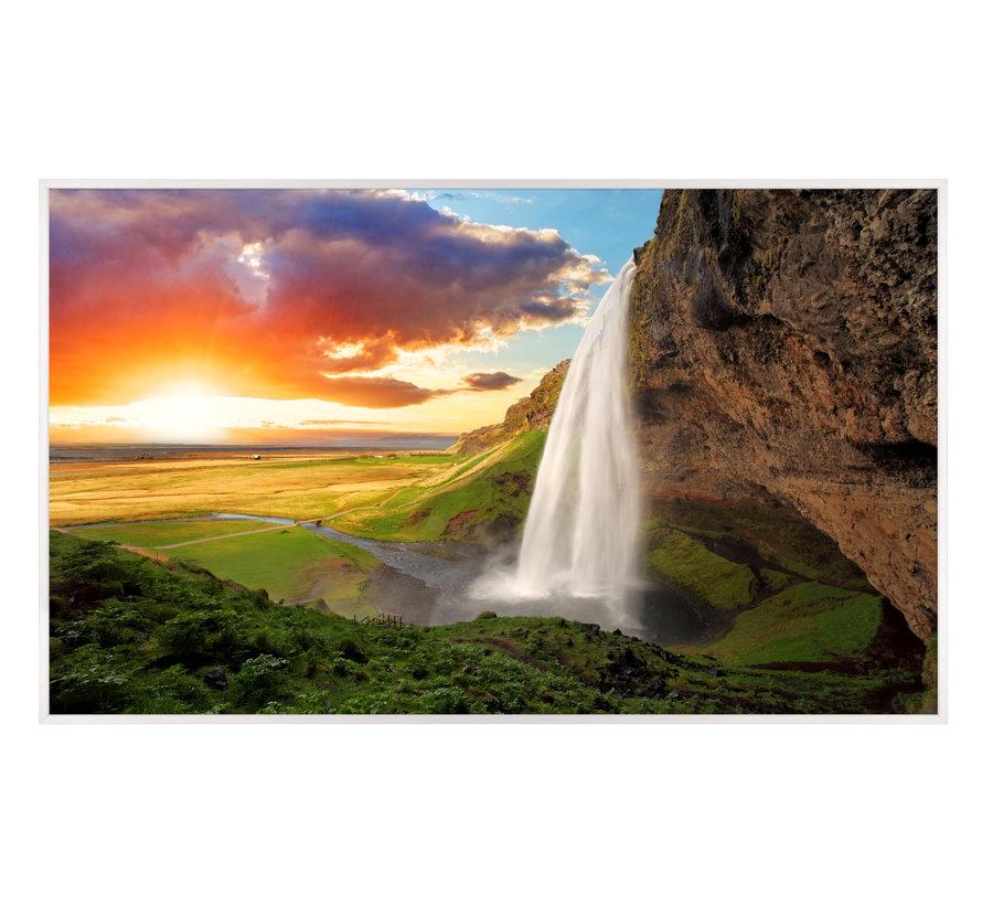 Waterval IJsland Infraroodverwarmingspaneel 60x100cm 600W