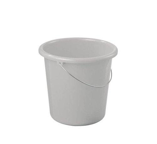 Sunware Sunware Bucket Cleaning 10 Liter Silver