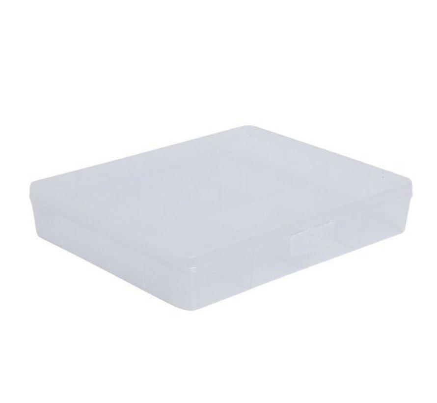 Sunware Q-Line Box Transparant 16-Vaks