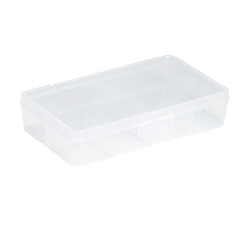 Sunware Sunware Q-Line Box Transparant 8-Vaks