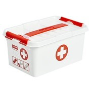 Sunware Sunware Q-Line First Aid Box with Lid 6 Liters