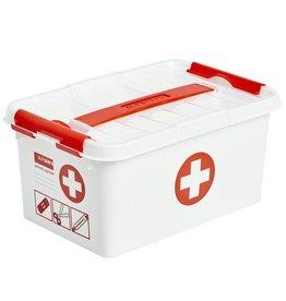 Sunware Sunware Q-Line First Aid Box met deksel 6 liter 79201604