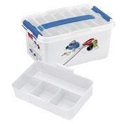 Sunware Sunware Q-Line Naaigarenbox mit Deckel 6 Liter