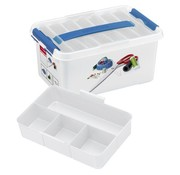 Sunware Sunware Q-Line Naaigarenbox with Lid 6 Liters