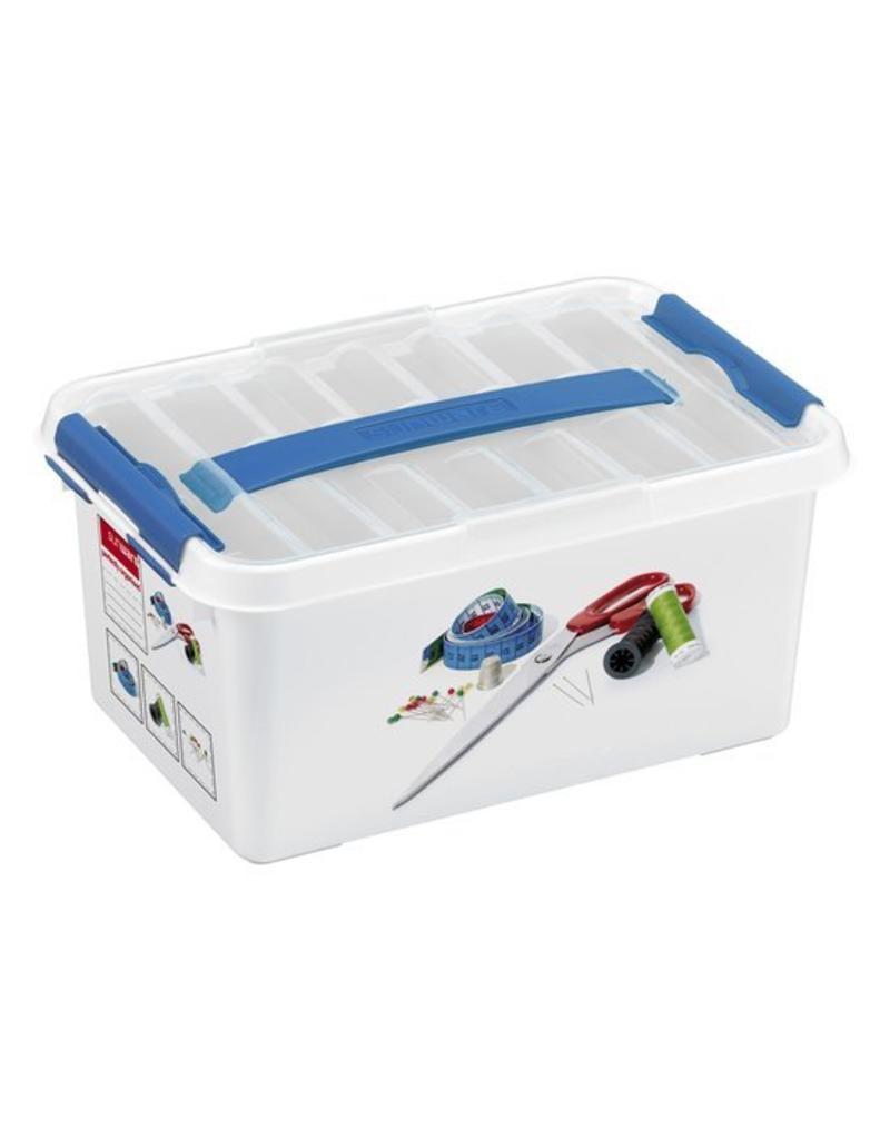 Sunware Sunware Q-Line Naaigarenbox met deksel 6 liter 79200400