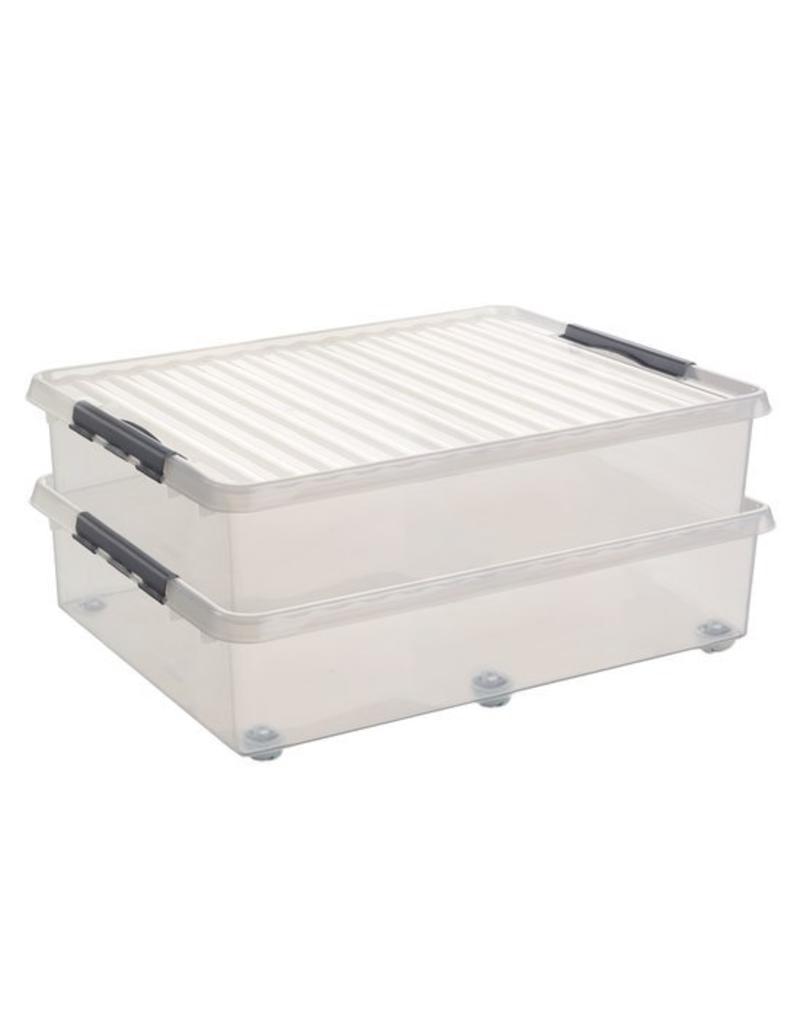 Sunware Sunware Q-Line Opbergbox Bed 60 liter 75700609