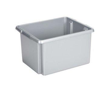Sunware Sunware Stapelbox Nesta 32 Liter Zilver