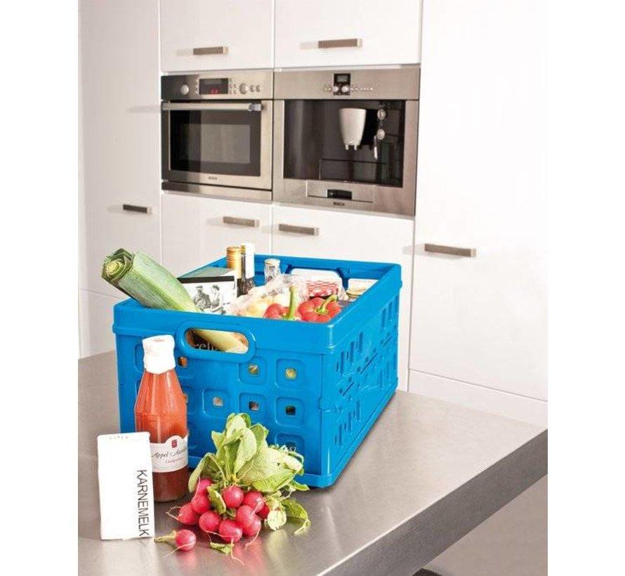 Sunware folding crate Folda Blue 32 Liter