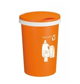 Sunware Sunware Twinga Afvalbak Oranje 45 liter 60800535