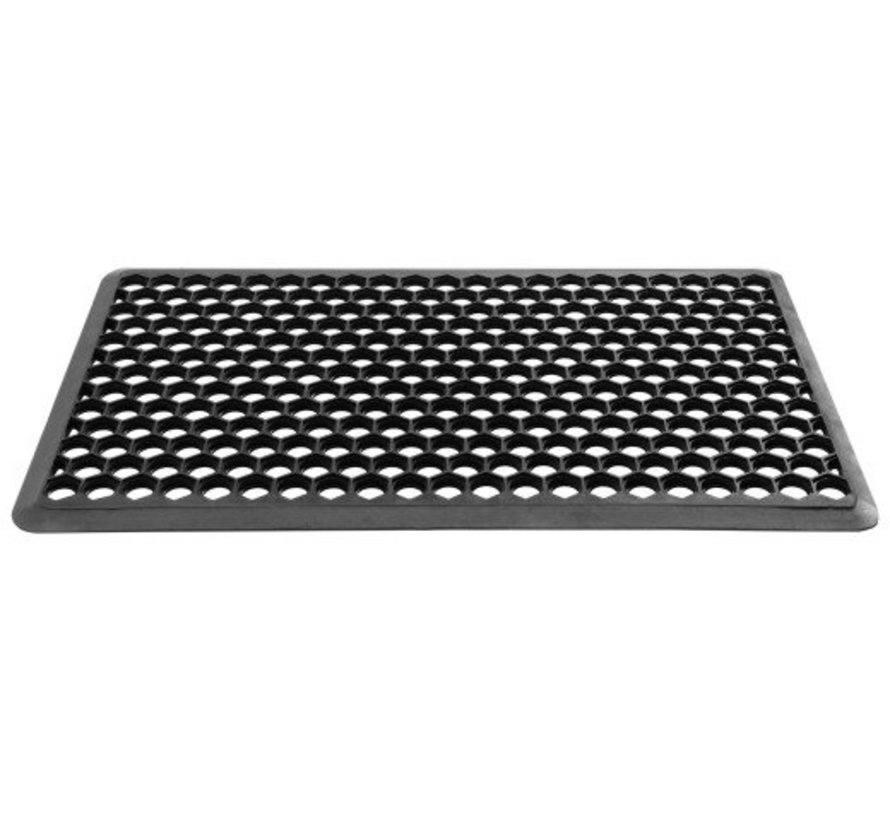 Hamat Allegro Ringmat 40 x 70 cm Zwart